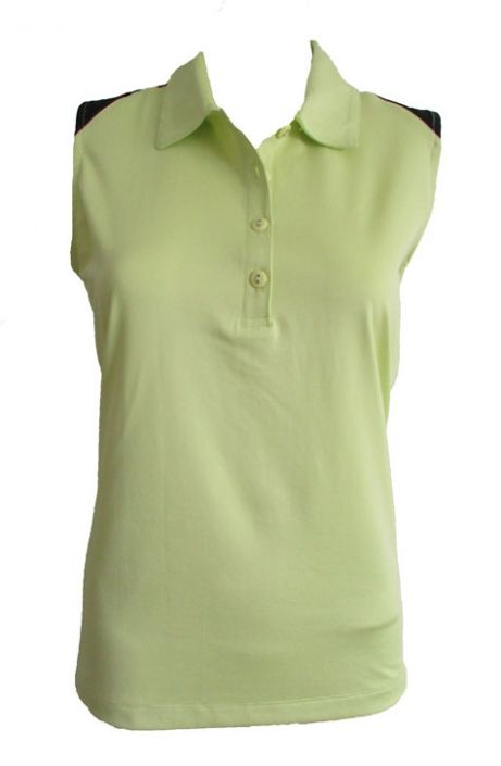 7042a9629deeb Check out our Culture Clash (Celery Multi) EP New York Ladies   Plus Size  Sleeveless Golf Shirt! Find stylish golf apparel at  lorisgolfshoppe Click  through ...