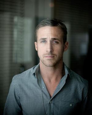 Ryan Gosling window portrait
