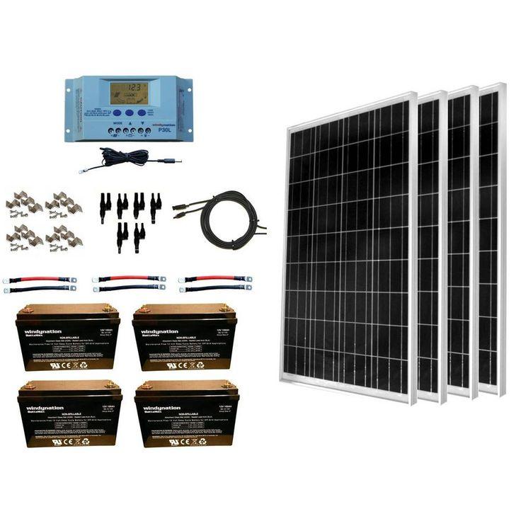 WindyNation 400Watt OffGrid Polycrystalline Solar Panel