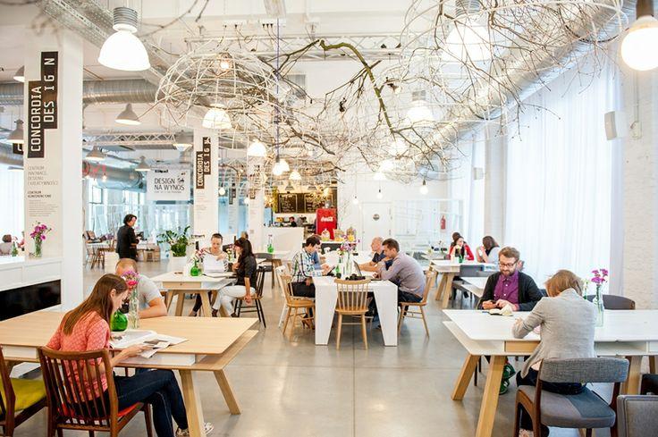 interior, restaurant, post-industrial, restaurant, working, conferences, Poznań