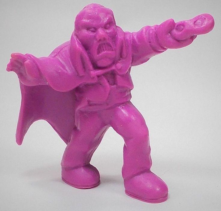 Monster in my Pocket - Series 1 - 38 The Phantom - Neon Purple NP MEG MIMP