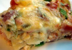 Breakfast Tortilla Casserole | The perfect way to use up leftover ham!