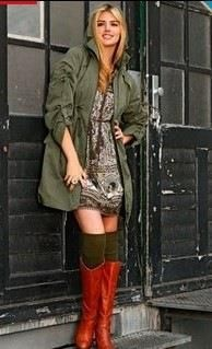 Куртка защитного цвета хаки
