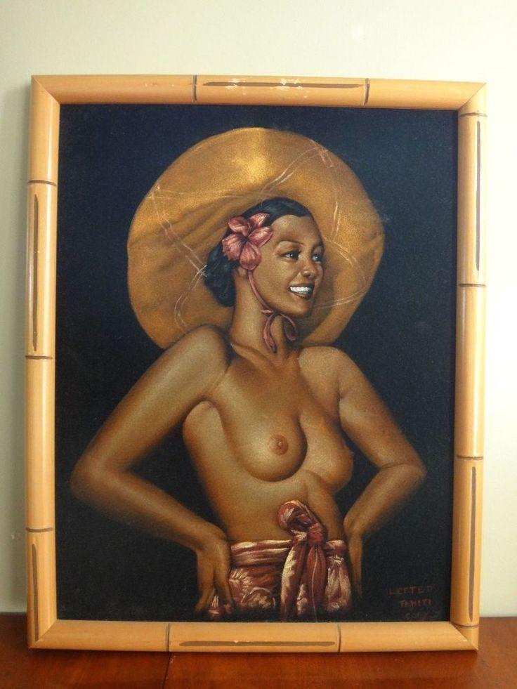 Black velvet nude