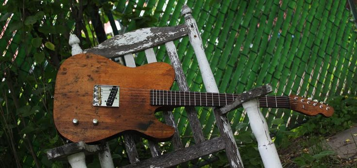building a guitar from reclaimed wood - Telecaster Guitar Forum