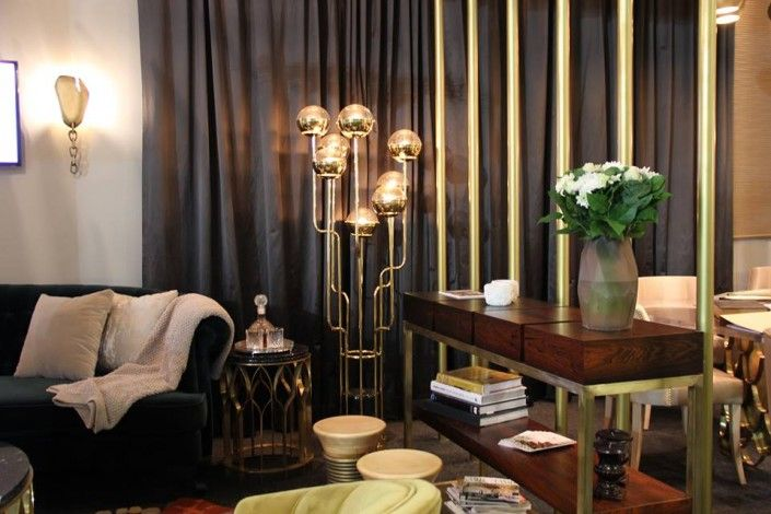 In the mood of Spring: BRABBU's new lighting pieces, contemporary lighting pieces, lamps inspired by nature and world cultures, floor lamps, @BRABBU