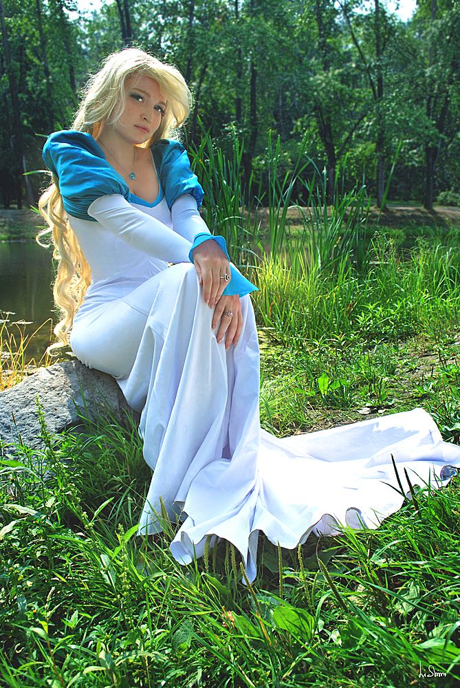 Odett from Swan Princess by Usagi-Tsukino-krv omg my mom made me a costume one year like this :) good times
