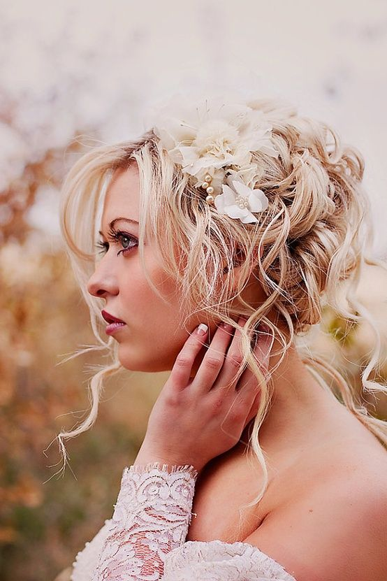 Bridal Hairstyle Ideas At: http://www.fresnoweddingblog.com/2012/11/bridal-hairstyle-ideas-for-your-fresno.html