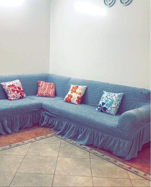 لطلب واتس اب 0543221247 غطا كنب بالمتر من تصوير زباينا يتوفر عندنا تلبيسات كنت با المتر تفصيل على الك Outdoor Sectional Sofa Sectional Sofa Sectional Couch