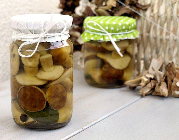 Marynowane grzyby - bez pasteryzowania