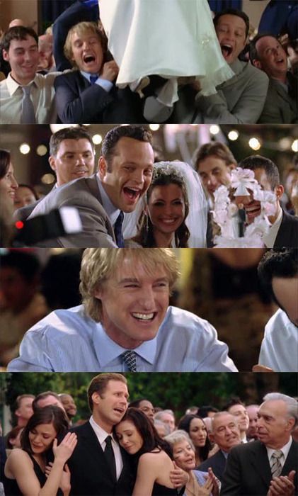 wedding crashers....please let my wedding be as awesome as the first 10minutes of this movie. I ould Love To Crash A Wedding!!