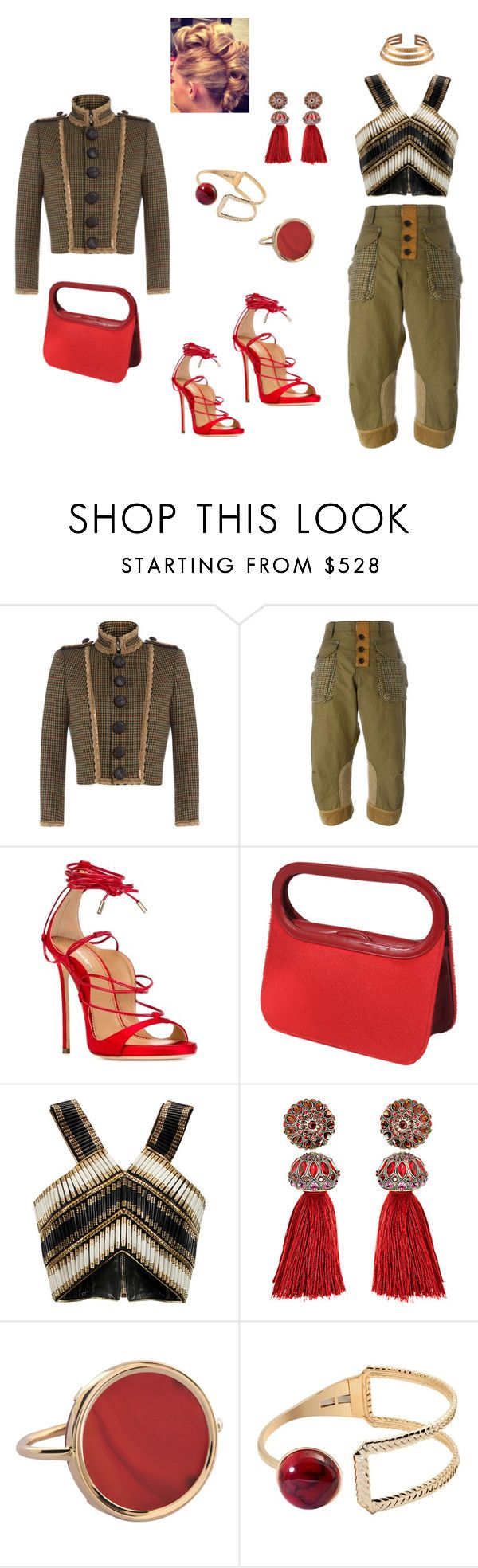 """#D20 #fw15"" by missactive-xtraordinary ❤ liked on Polyvore featuring Dsquared2, Renaud Pellegrino, Balmain, Lanvin and Ginette NY"
