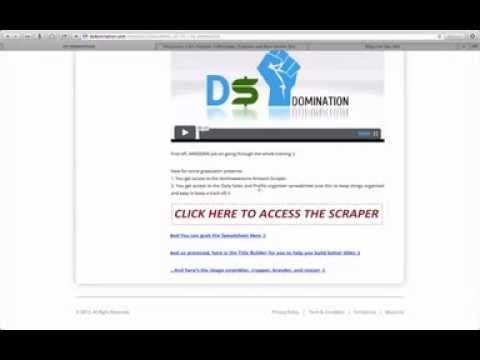 [DS Domination] How to make sales within one day on eBAY/Amazon