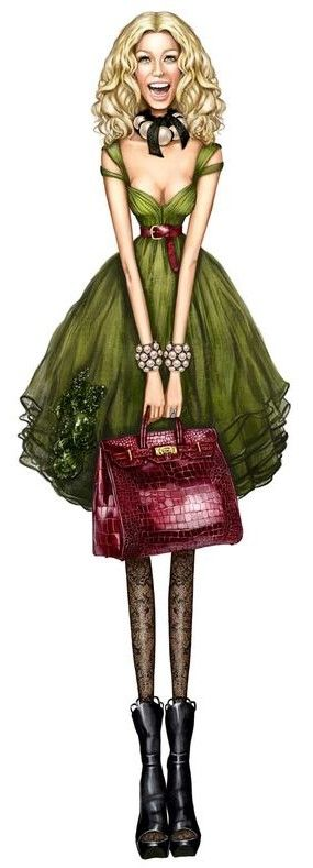 Pergamino Fashion Illustration