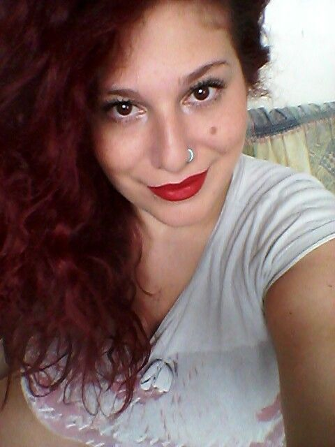My red hair!I love it