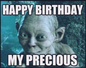 Funny Yoda Birthday Meme