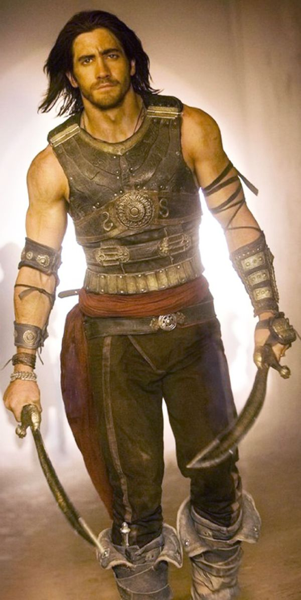 Prince of Persia....GREAT movie. And not just because Jake Gyllenhaal is in it....ok, so maybe it has a little to do with that.