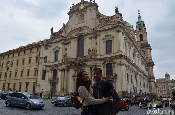 iglesia san nicolas. Praga en dos días