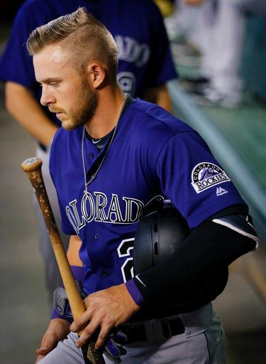 Trevor Story, COL//April 6, 2016 at ARI