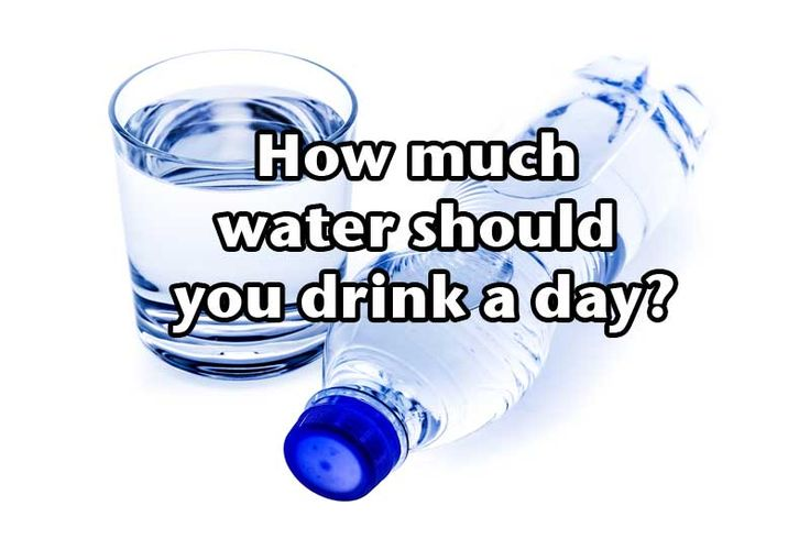 How Much Water Should A Diabetic Drink A Day