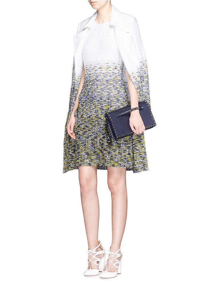 ST. JOHN - 'Villa Lysis' gradient bouclé knit dress | Multi-colour Cocktail Dresses | Womenswear | Lane Crawford - Shop Designer Brands Online