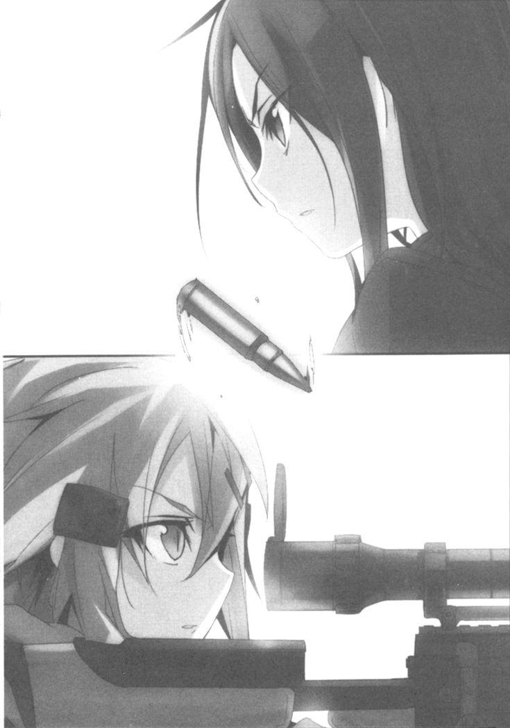 Sword Art Online /GGO - Kirito and Sinon
