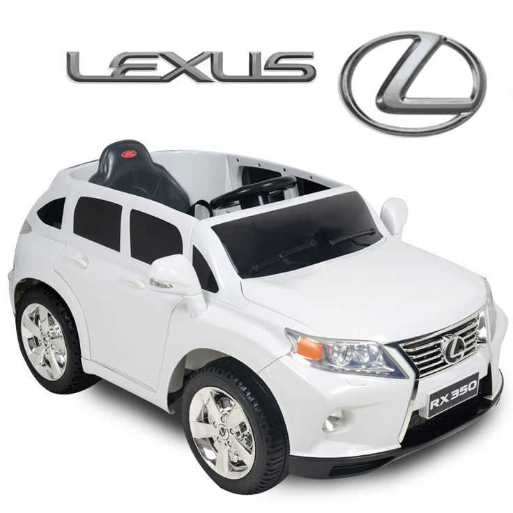 12v lexus rx350 kids ride on suv battery powered wheels car rc remote white