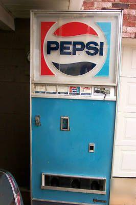Vintage pepsi soda pop machine | pinterest: NoxiousSparks  |