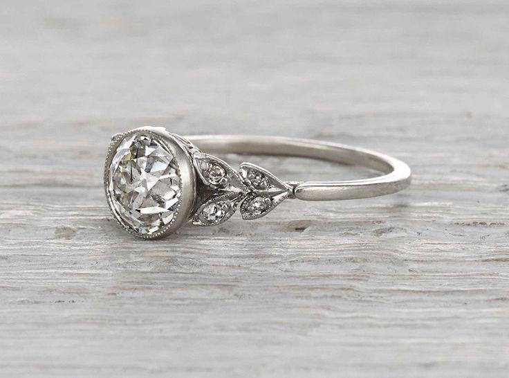 1.17 Carat Edwardian Engagement Ring