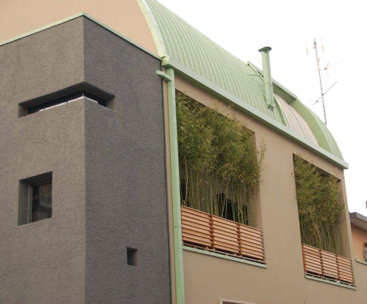architetto Alessandro Pirovano casa bifamiliare Milano Italy