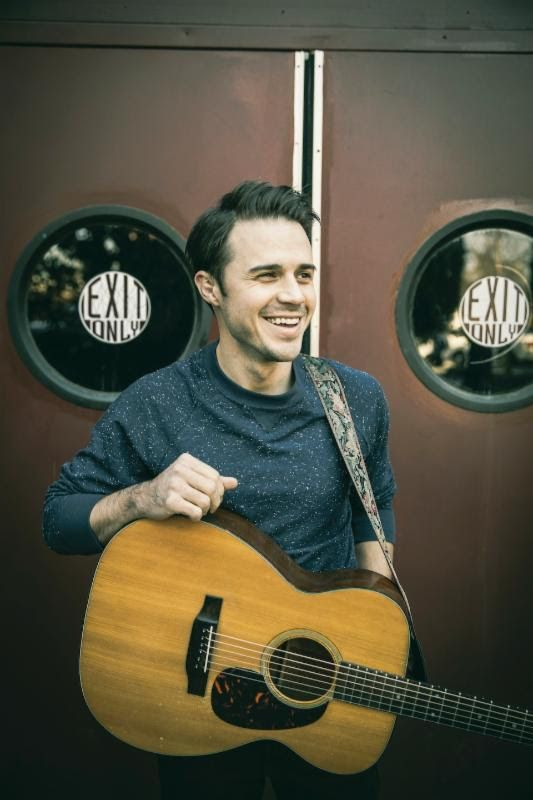 Literally my inspiration for being a musician. Kris Allen is one of my all time favorite singers. And so freakin humble.