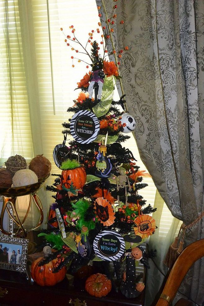 halloween christmas tree diy ornaments