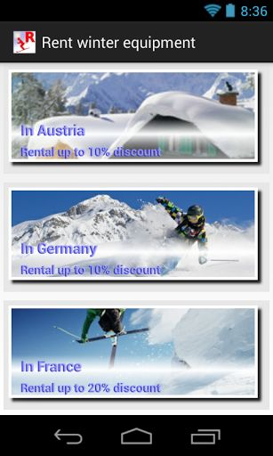 Rent your ski or snowboard for your Alps trip. Good Weather is already there. The forecasts are best for this season in Alps. You can also book accommodation in the top Alpine resorts. Here you can find the best hotel offers for your holidays in Alps and discounts on equipment rental. For all weather conditions Your kid under 10 can rent ski free of charge per adult rental. It pays to rent your winter sport gear! Benefit from special  ski hire prices, ski rental offers and advantages i...
