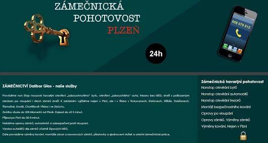 Zámečnictví Plzeň