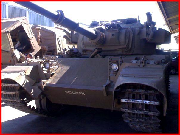 SADF.info Olifant tank Earlier model based on Centurion.