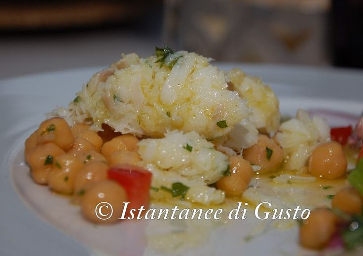 """Fish and Legumes"" Photo by. ""Instantanee di Gusto"" Guest: Pellino Vincenzo  #Restaurant #food #assisi"