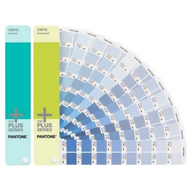Pantone Cmyk Coated & Uncoated Reference Printed Book