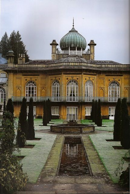 Sezincote House in Gloucestershire  The onion dome so prevalent in Indian design made its way into British architecture