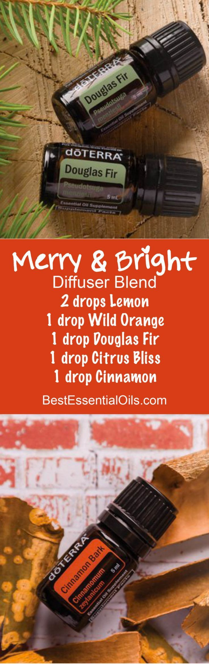 Merry & Bright doTERRA Diffuser Blend
