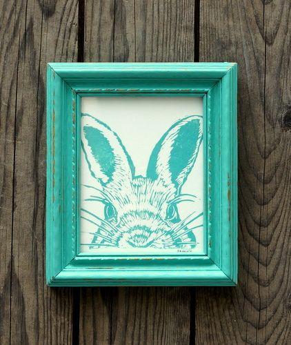 Favorite Faces Framed Prints - rabbit