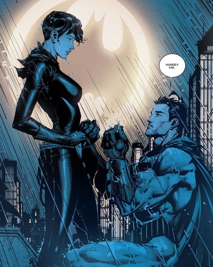 Batman Proposing To Catwoman