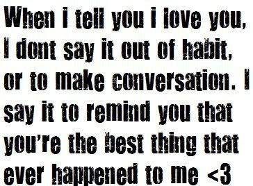 I Love You Quotes I - Love Quotes and Sayings HAH! Exactly:)