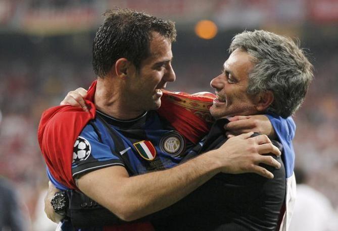 #Stankovic and #Mourinho Champions League final