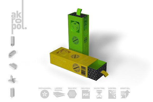 Box Mock Up-02 by akropol on @creativemarket