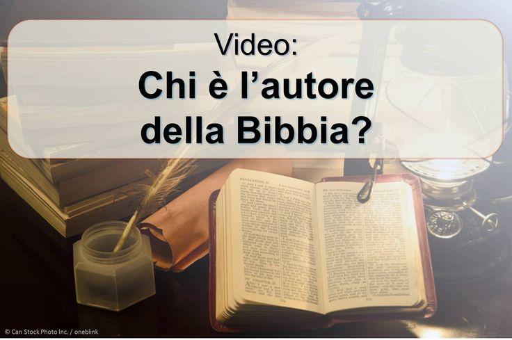 """Alcuni uomini diversi quaranta ha scritto il testo della Bibbia, eppure è chiamato """"la parola di Dio."""" (1 Tessalonicesi 2.13) Come potrebbe Dio a dare i suoi pensieri agli esseri umani? Guarda questo video per scoprire. https://www.jw.org/it/pubblicazioni/libri/dio-ci-d%C3%A0-una-buona-notizia/buona-notizia-nella-bibbia-da-dio/video-chi-%C3%A8-autore-bibbia/ (Some forty different men wrote the Bible text, yet it is called """"the word of God.""""  How could God give his thoughts to humans?)"""