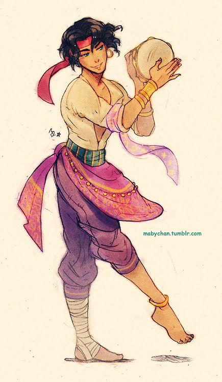Esmeralda Genderbend this is my favorite Genderbent ever. Like I want to kidnap him so badly....