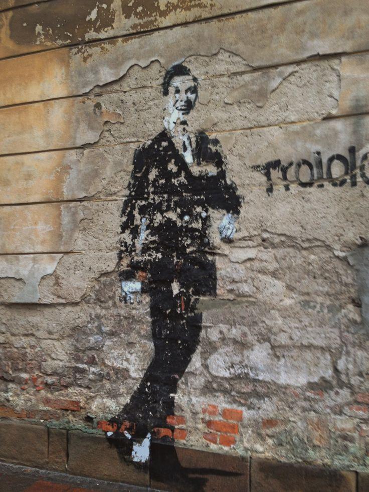 Streetart, street art, graffiti, murals, Poland, Kraków. Photo by me.
