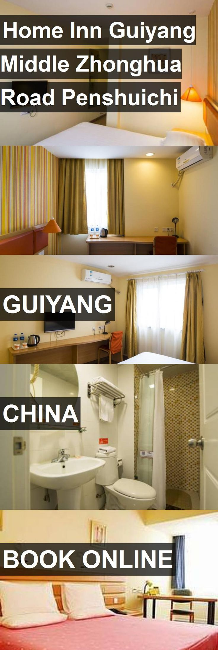 Hotel Home Inn Guiyang Middle Zhonghua Road Penshuichi in Guiyang, China. For more information, photos, reviews and best prices please follow the link. #China #Guiyang #travel #vacation #hotel