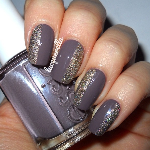 Purple Taupe Nail Polish: Brown & Taupe On Pinterest