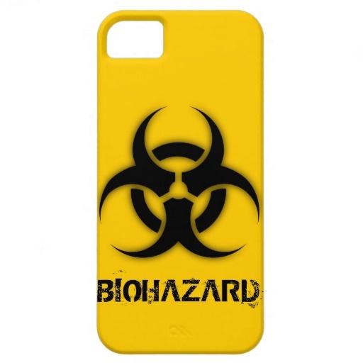 Biohazard Customizable iPhone 5 Case